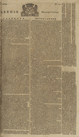 Leydse Courant 1754-11-04