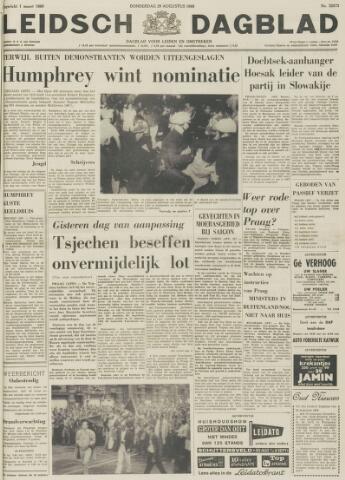 Leidsch Dagblad 1968-08-29