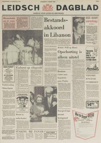 Leidsch Dagblad 1978-08-10