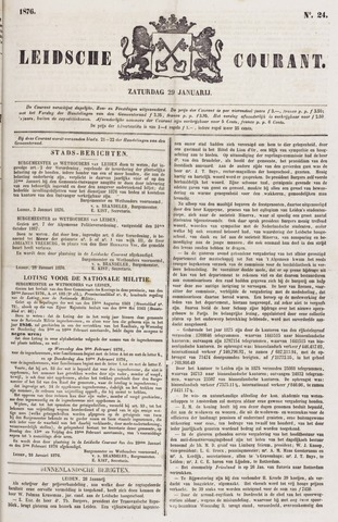 Leydse Courant 1876-01-29