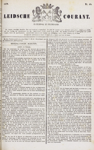 Leydse Courant 1879-02-22