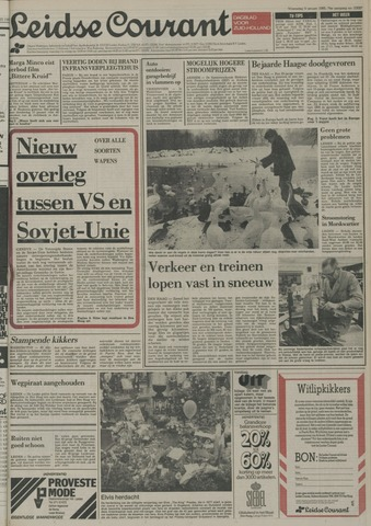 Leidse Courant 1985-01-09
