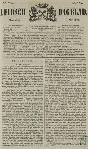 Leidsch Dagblad 1867-10-07