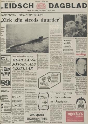 Leidsch Dagblad 1973-09-27