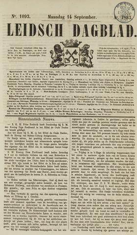 Leidsch Dagblad 1863-09-14
