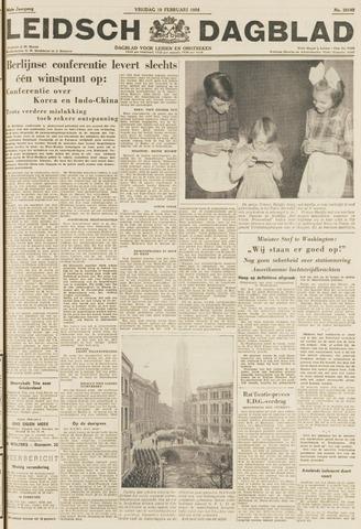 Leidsch Dagblad 1954-02-19