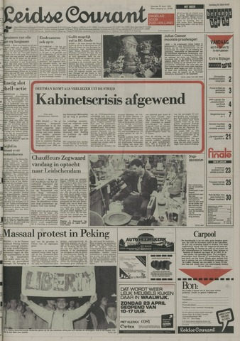 Leidse Courant 1989-04-22