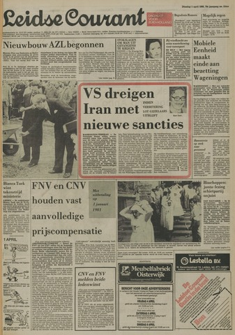 Leidse Courant 1980-04-01