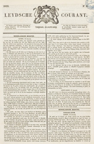 Leydse Courant 1855-01-19