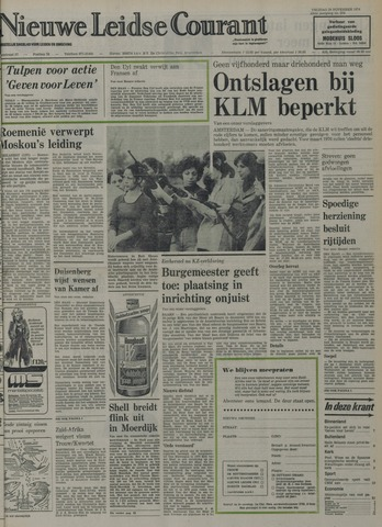 Nieuwe Leidsche Courant 1974-11-29