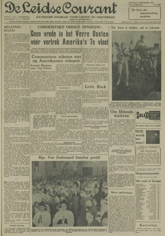 Leidse Courant 1958-09-09