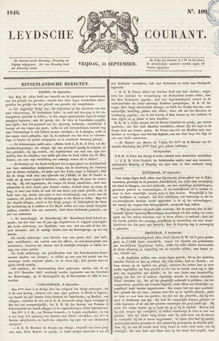 Leydse Courant 1846-09-11