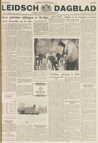 Leidsch Dagblad 1954-02-12