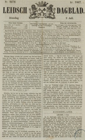 Leidsch Dagblad 1867-07-09