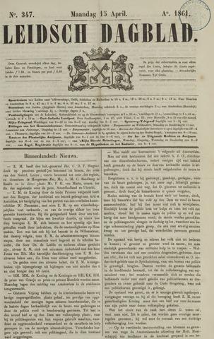 Leidsch Dagblad 1861-04-15