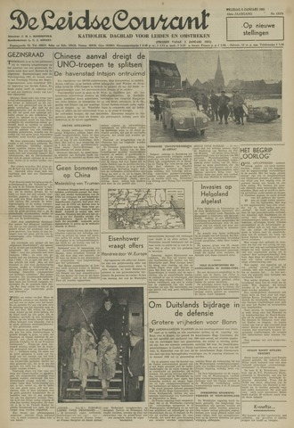 Leidse Courant 1951-01-05