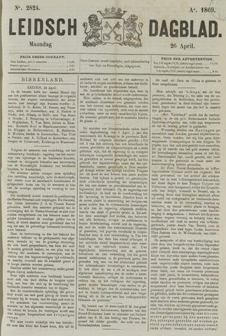 Leidsch Dagblad 1869-04-26