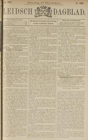 Leidsch Dagblad 1885-12-15