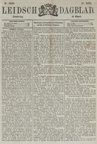 Leidsch Dagblad 1878-03-14