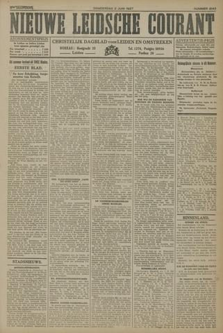 Nieuwe Leidsche Courant 1927-06-02