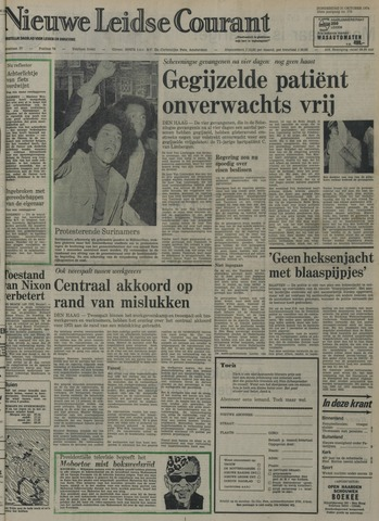 Nieuwe Leidsche Courant 1974-10-31