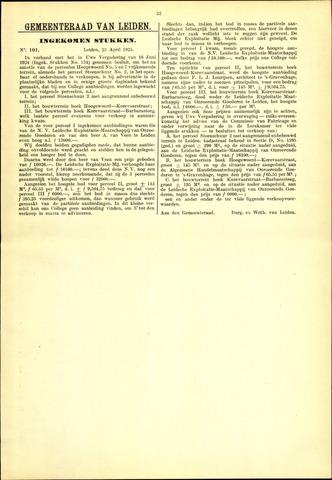 Handelingen van de Raad 1925-04-23