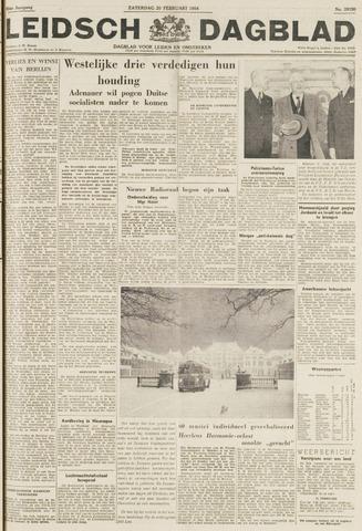 Leidsch Dagblad 1954-02-20