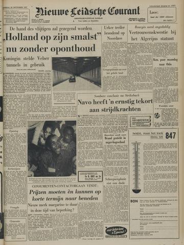 Nieuwe Leidsche Courant 1957-09-28