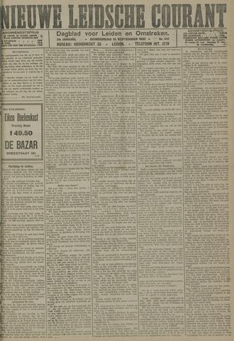 Nieuwe Leidsche Courant 1921-09-15