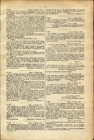 Handelingen van de Raad 1879-02-17