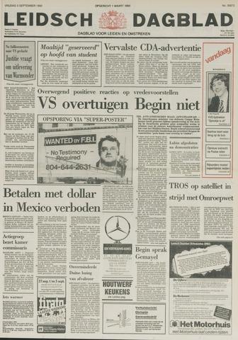 Leidsch Dagblad 1982-09-03