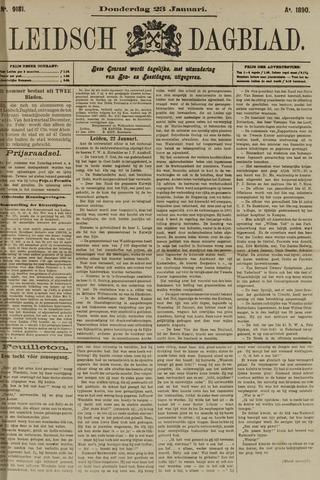 Leidsch Dagblad 1890-01-23