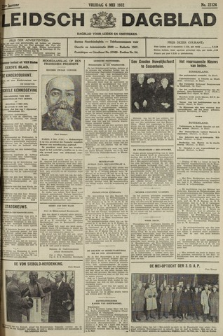Leidsch Dagblad 1932-05-06