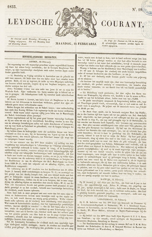 Leydse Courant 1853-02-14