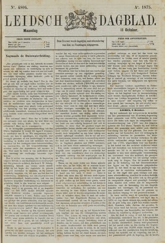 Leidsch Dagblad 1875-10-11