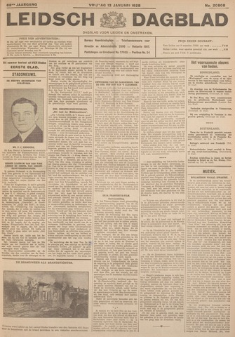 Leidsch Dagblad 1928-01-13