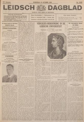 Leidsch Dagblad 1930-10-22