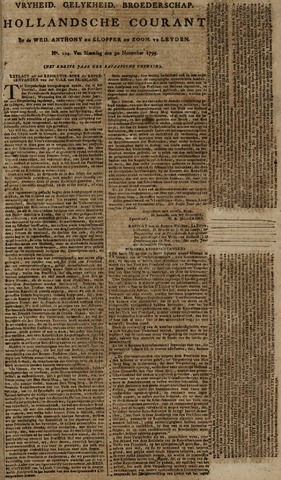 Leydse Courant 1795-11-30