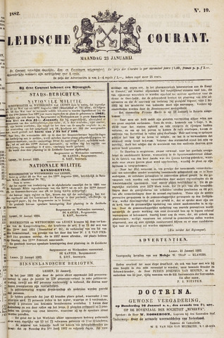 Leydse Courant 1882-01-23