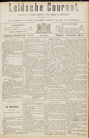 Leydse Courant 1890-01-16