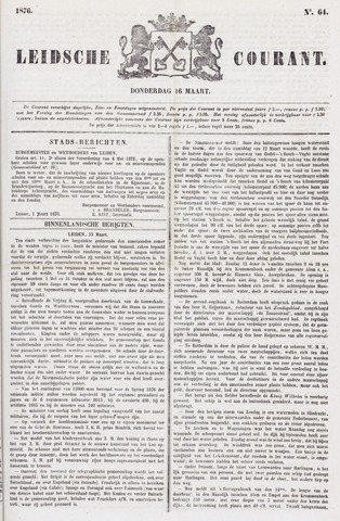 Leydse Courant 1876-03-16