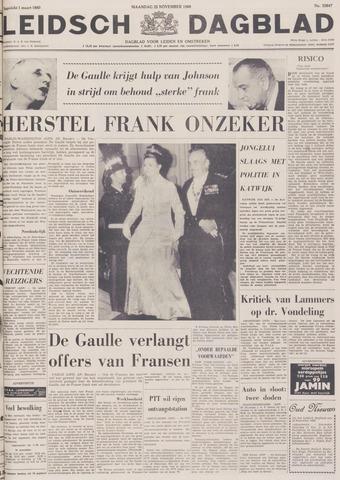Leidsch Dagblad 1968-11-25