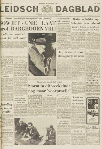 Leidsch Dagblad 1963-11-18