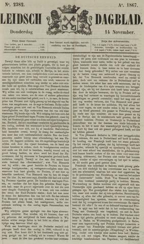 Leidsch Dagblad 1867-11-14