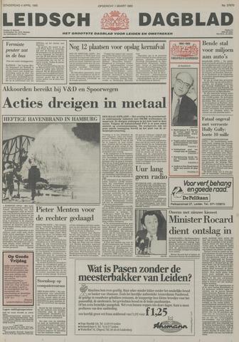 Leidsch Dagblad 1985-04-04