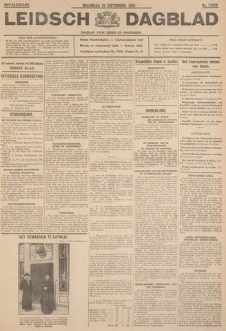 Leidsch Dagblad 1928-09-10