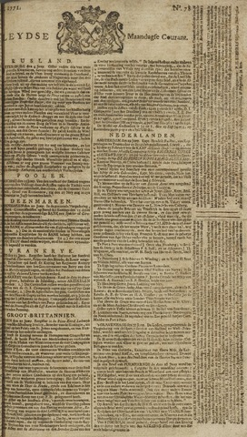 Leydse Courant 1771-07-01