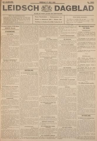 Leidsch Dagblad 1928-07-17