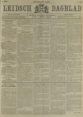 Leidsch Dagblad 1911-04-25