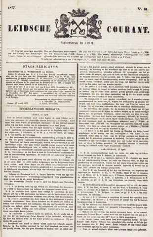 Leydse Courant 1877-04-18